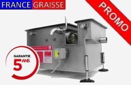 bac a graisse automatique en inox